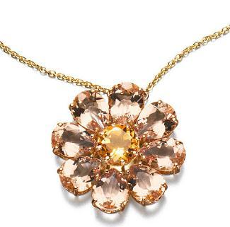 百星珠寶花狀