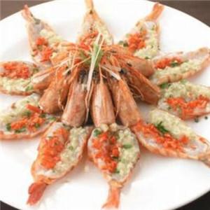 白鹤茶餐厅蒜泥虾