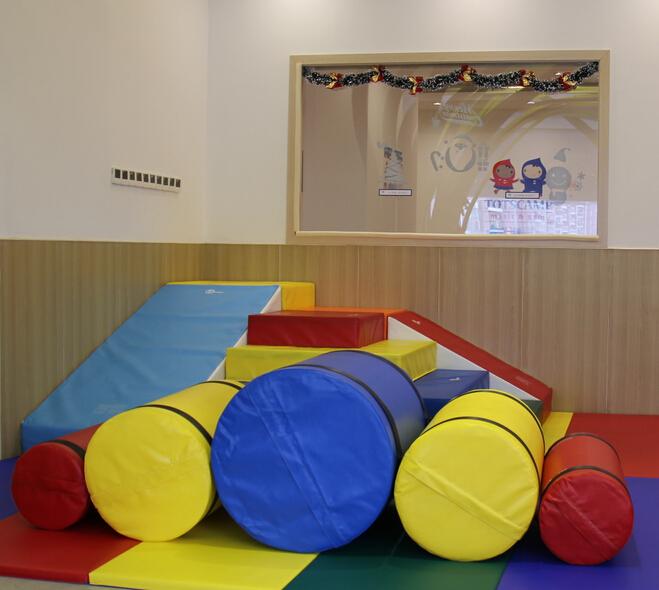 TOTSCAMP美式嬰幼兒育樂中心校區內