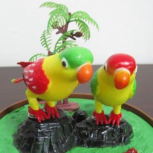 智慧鸟玩具租凭店电动仿真玩具