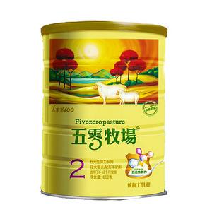五零牧场奶粉2段