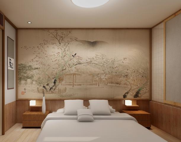 木山清芽日式酒店大床房