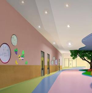 童星幼兒園走廊