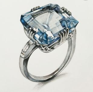 百星珠寶鉆戒設計圖