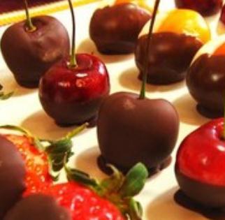 巧克力鮮果串甜