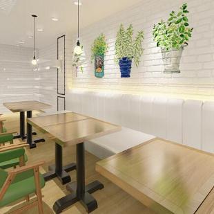 沁芳園甜品店桌子