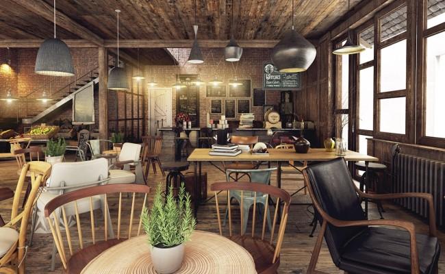半空間咖啡館內部環境