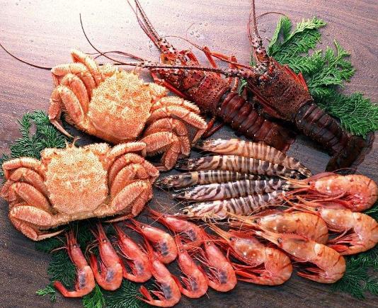 标记海鲜酒家螃蟹