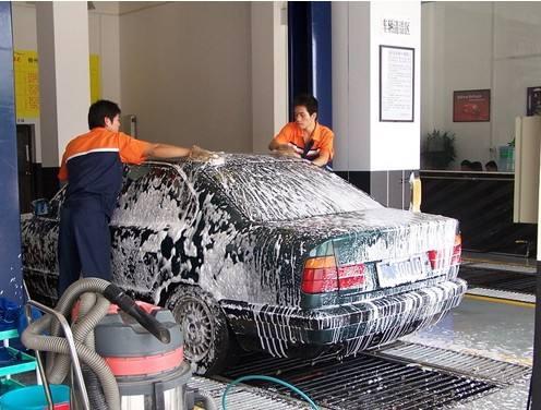 小型洗车店