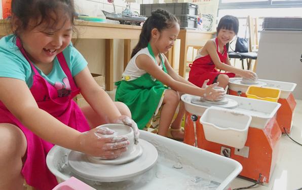 儿童陶艺加盟
