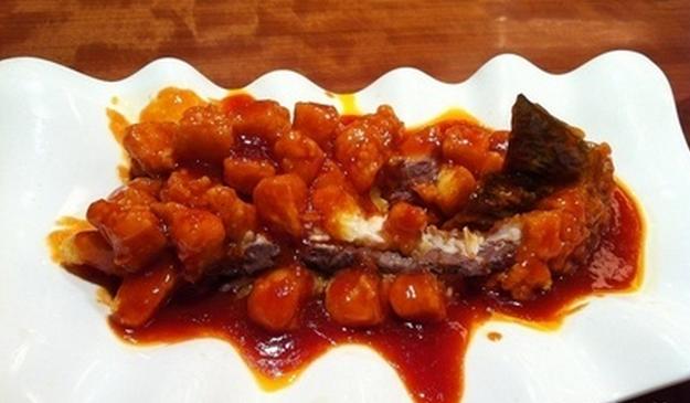 巴山小馆糖醋鱼
