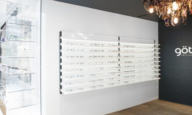 Gotti眼镜陈列背柜设计