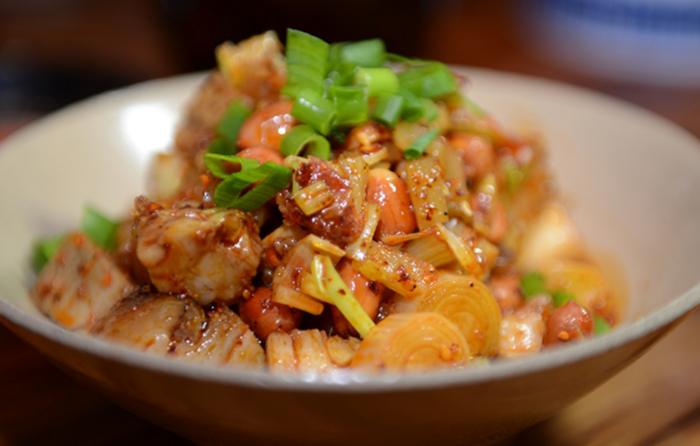 巴蜀土菜馆美味