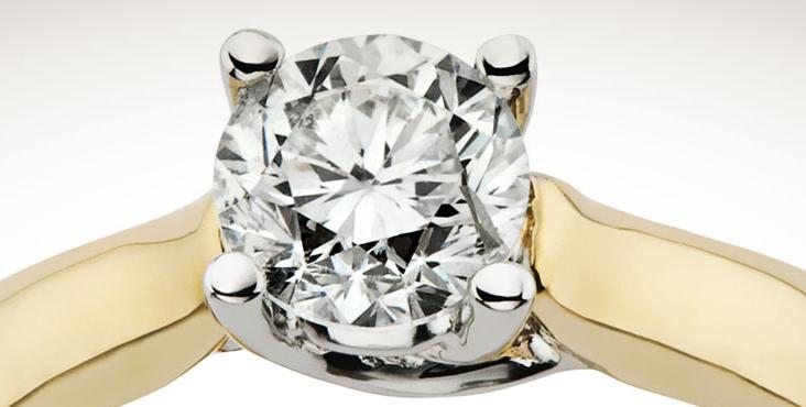百年大福珠宝砖石戒指