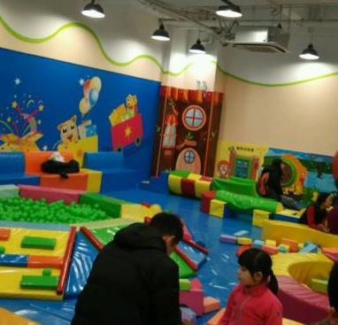 乐乐派儿童室内游乐场内景