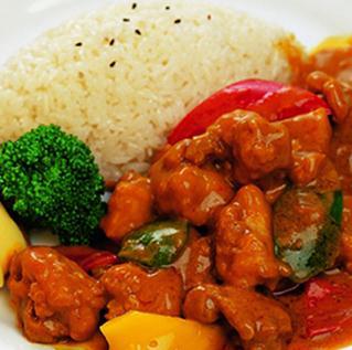 好樂福中式快餐連鎖蓋澆飯