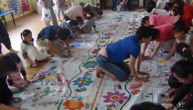 六一幼兒園集體活動
