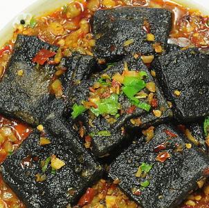 黑色經典臭豆腐