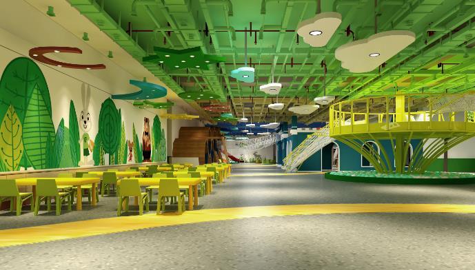 龙之梦室内游乐场课堂设施