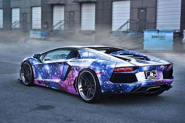 酷玩车身彩绘