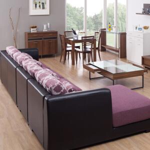 红苹果家具布艺沙发优雅