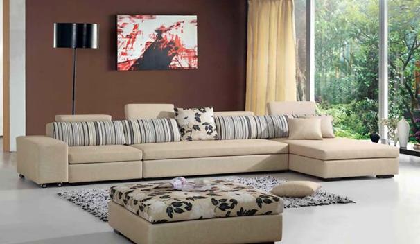 金仕利布艺沙发家具组合展示