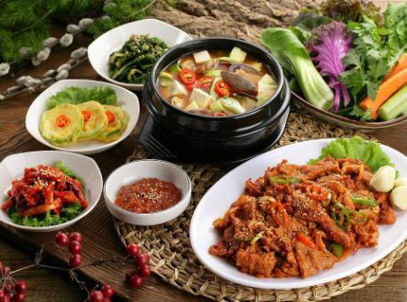 枣玛露韩式料理