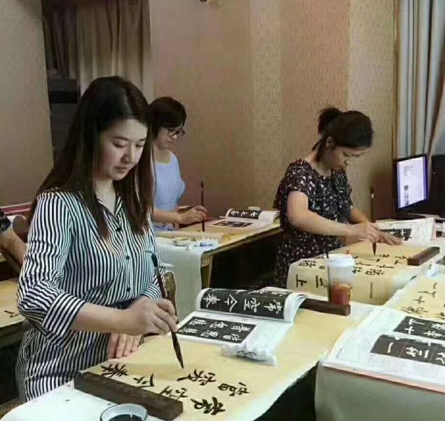 慧时光女子学堂文化会所练字