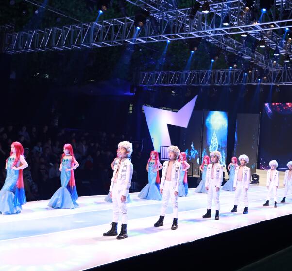 小童星儿童模特艺术展示