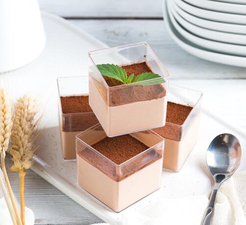 小氣茶奶茶飲品摩卡豆腐