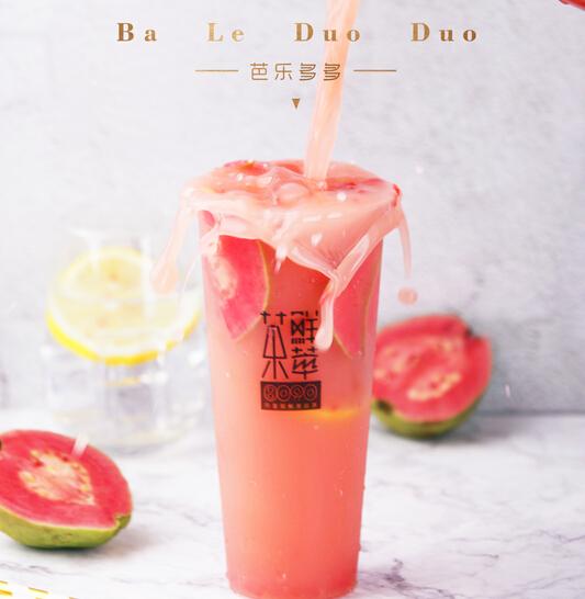 8090鲜萃茶草莓