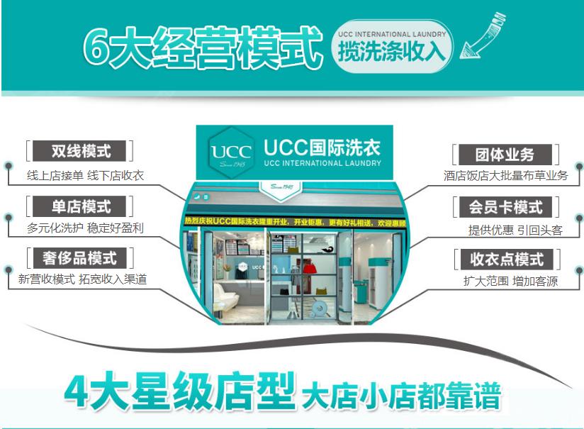 ucc干洗多款店型