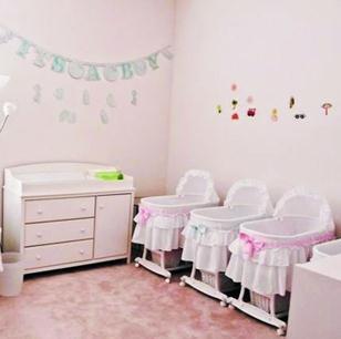 安馨月子会所宝宝护理室