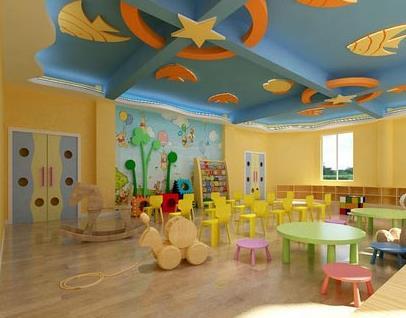 南师大附属幼儿园活动室