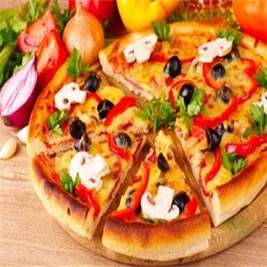 芝心乐披萨展示