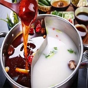 纸盐河码头火锅汤汁
