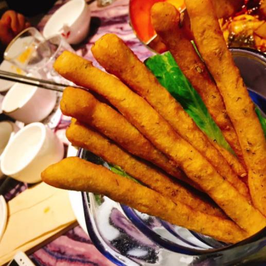 大智若愚時尚火鍋菜品展示