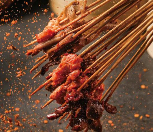 酥先生烤魚飯串串