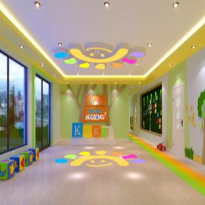 卡酷幼儿园体育室