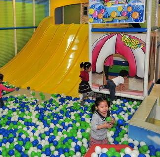 乐乐派儿童室内游乐场项目