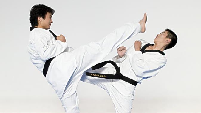 龙俊杰跆拳道比赛