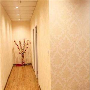 欲丝轩男士养生馆走廊