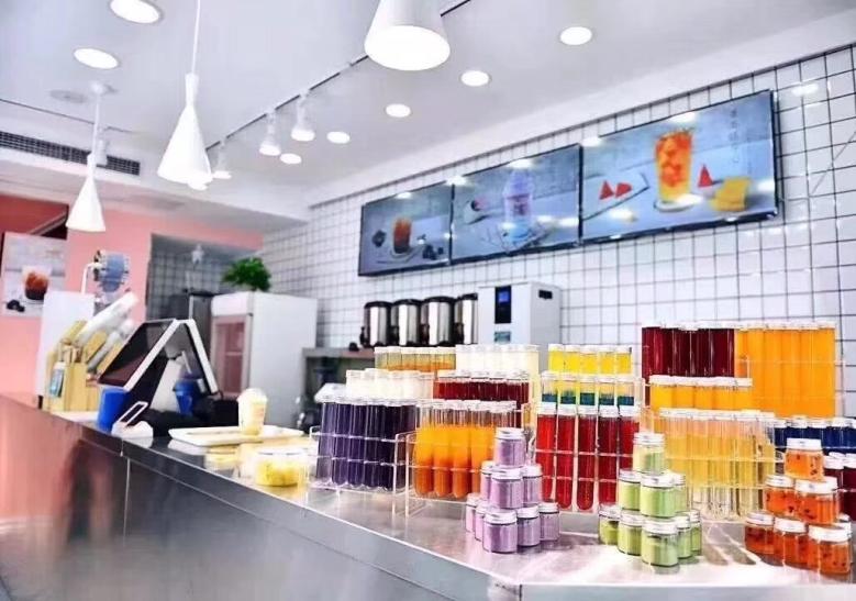 奶茶实验室店铺
