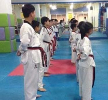 陈中跆拳道课堂