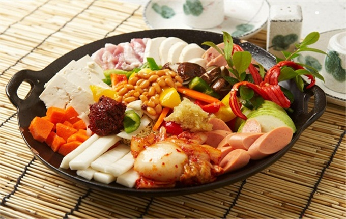 一松亭韩国料理食材