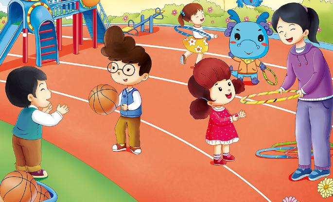 回龙观童学园幼儿园做游戏