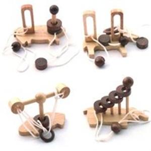 九连环益智玩具图