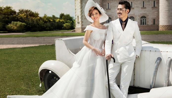 巴黎婚纱摄影精致