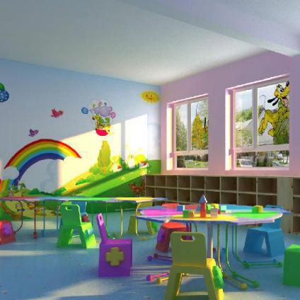 点金石幼儿园向阳教室