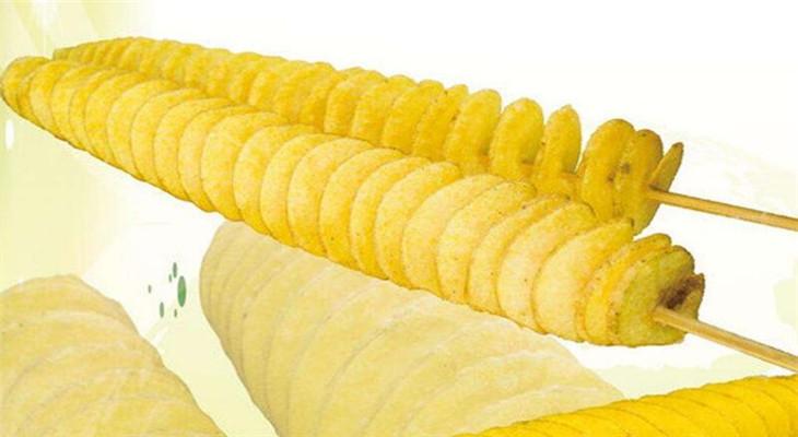 龍卷風土豆薯塔